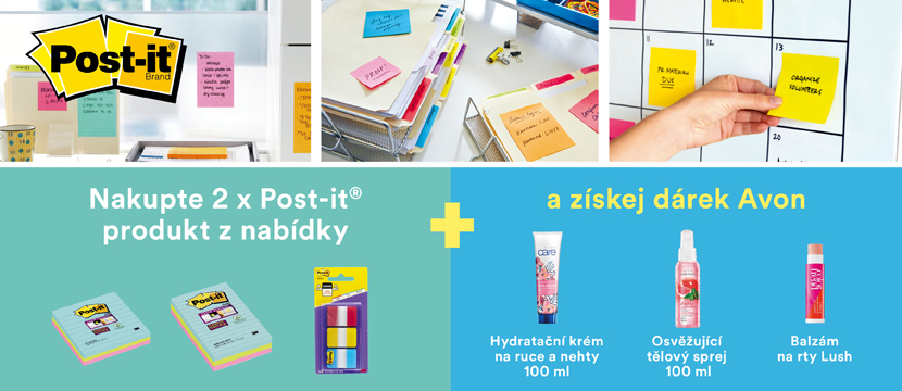 Dárky k 3M Post-it